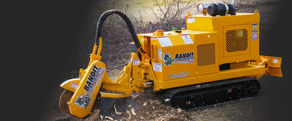 Bandit 2900t stump grinder